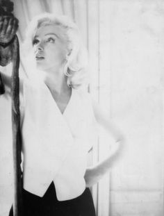 Marilyn Monroe 1953 photo by Milton H Green