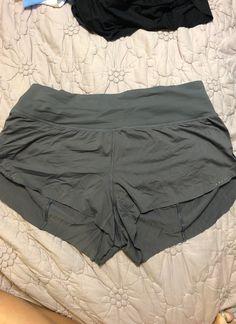 Lululemon Chase Me Shorts Gray Great Condition Similar to the Speed Up Shorts Lululemon Shorts, Lululemon Athletica, Green Jeep, Gray, Grey
