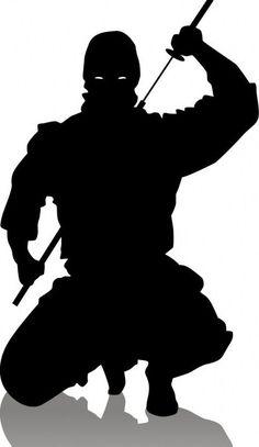 Finally - JP Morgan Under Criminal Investigation - News - Bubblews Arte Ninja, Ninja Art, Afro Samurai, Samurai Tattoo, Silhouette Tattoos, Silhouette Art, Ninja Birthday Parties, Tattoo Arm Designs, Samurai Artwork