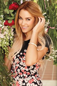 Lauren Conrad's hair... strawberry blonde ombre