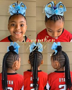 Hairstyles braids Gorgeous Braids for kids - Naija's Daily Little Girl Braid Hairstyles, Black Kids Hairstyles, Little Girl Braids, Baby Girl Hairstyles, Black Girl Braids, Dope Hairstyles, Kids Braided Hairstyles, African Braids Hairstyles, Braids For Kids