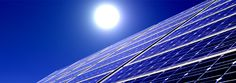 Those are PV solar panels or photovoltaic panels. PV panels are a form of solar technology. These panels are capable of generating electricity by harnessing the sun's energy.