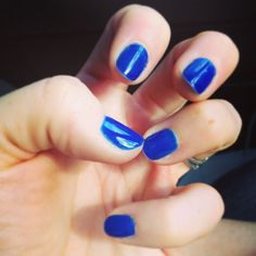 Custom color Moroccan blue by me Moroccan Blue, Beautiful Hands, Nails, Beauty, Color, Finger Nails, Ongles, Colour, Beauty Illustration