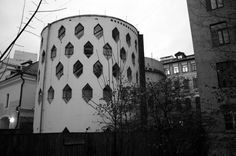 Melnikov House in Moscow, by 1920's avant-garde architect Konstantin Melnikov reported to be threatened by the New York Times.