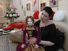 Мастер реалистичной интерьерной куклы