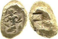 Electrum coin.