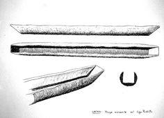 Kenya - piroga monoxila sul Lago Rodolfo