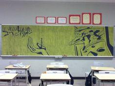 Classroom Chalkboard Art in Japan « Randommization Randommization