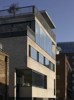 Batemans Row by Theis and Khan Architects   Dezeen