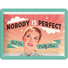 Nobody Is Perfect - http://www.retrozone.pl/pl/p/Nobody-Is-Perfect/211