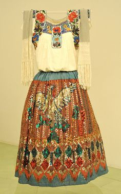 China Poblana Mexico by Teyacapan on Flickr.    museo textil de oaxaca