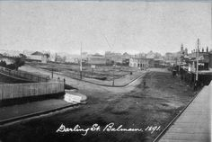 Darling Street Balmain 1891. State Library of NSW