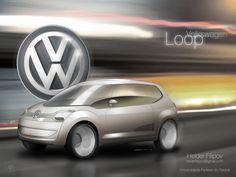 Volkswagen Loop by Helder Filipov, via Behance