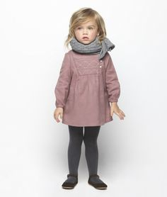 Could this be any cuter? I want this for Nevaeh-Jade Little Girl Outfits, Cute Outfits For Kids, Little Girl Fashion, Fashion Kids, Outfits Niños, Cool Kids Clothes, Stylish Kids, Kid Styles, My Baby Girl