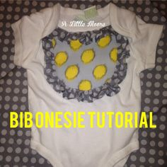 Embellished Bib Ones