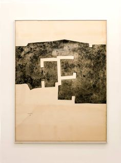 Eduardo Chillida Abstract Landscape, Abstract Art, Mental Health Art, Engraving Printing, Spanish Painters, Abstract Sculpture, Art And Architecture, Art World, Art Inspo