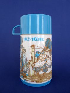 Retro 1979 Holly Hobbie Thermos Flask by FoxandThomas on Etsy I LOVE Holly Hobbie! I had one of these!