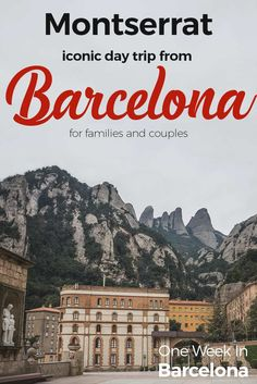 Montserrat monastery iconic day trip from Barcelona