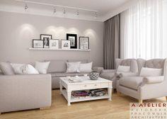 #projekt #wnetrze #interior #livingroom Tea Time, A Atelier #dom