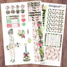 Bella planner stickers kit| for erin condren planner stickers| happy planner stickers| life planner stickers| girl mini kit | MK009