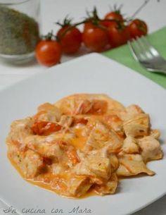 Bocconcini di pollo filanti alla pizzaiola | in cucina con Mara