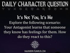 *turns to character* Moira? What will you say to this?