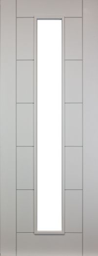 Seville White Primed Clear Glazed Internal Door Available in sizes 78 x 24 78 x 27 78 x 30 and 78 x 33 Primed ready for one coat finish Glass is Ready For First, Internal Doors, Seville, Best Sellers, Coat, Glass, Furniture, Home Decor, Sevilla