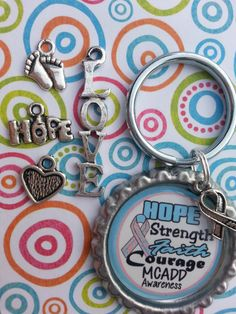 MCADD Awareness Hope Strength Faith Courage  by tracikennedy, $6.00