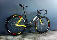 Cinelli Vigorelli 2013 (Italo 79 Black style wheels)