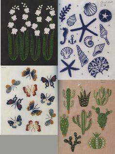 Higuchi Yumiko 12 Month Stitches Japanese Craft by PinkNelie