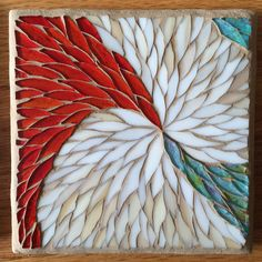 Abstract Swirl Mosaic Trivet by SilicaArts on Etsy https://www.etsy.com/listing/227564503/abstract-swirl-mosaic-trivet