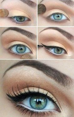 Makeup ideas for blue eyes – step by step makeup tutorial