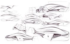 BMW Osmotic Drive - Final Year Project Flatwork by Mark Cansick, via Behance