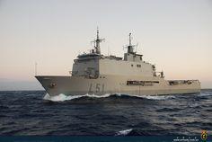 Anfibious assault ship LPD 'Galicia' (L51), Spanish Navy.