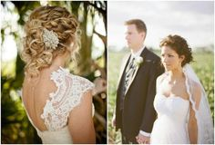 Naturally curly wedding hair_updos 4