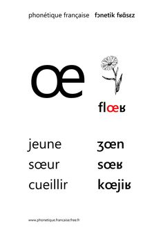 french sound œ - french phonetics