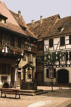 Encore! Life, Riquewihr, Alsace   by © snunney   via...