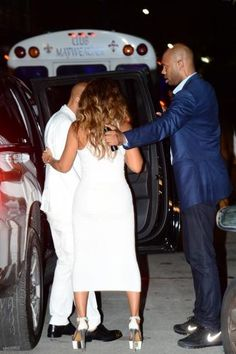 Beyoncé & Jay Attend Solange's Wedding In New Orleans Louisiana 16. 11.2014