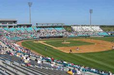Space Coast Stadium (1993), Viera, Florida, the Spring Training home of the Washington Nationals
