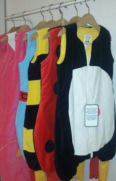 Últimos sacos pingúino. Mariquita, princesa, abeja... elige el tuyo en www.livingbaby.es