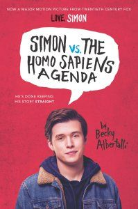 Simon vs. The Homo Sapiens Agenda by Becky Albertalli is a young adult contemporary novel about a homosexual teenager, who is trying to come out of the closet and find love in this world.
