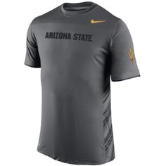 wholesale dealer 00fec baa5f Nike Atlanta Falcons Speed Performance T-Shirt - Charcoal