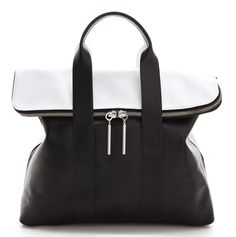 Black and White and Chic All Over: The Season's Best Bicolor Bags - 3.1 Phillip Lim - PurseBlog