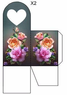 Sweet home : Volditavad kingipakid Diy Gift Box, Diy Box, Gift Boxes, Hobbies And Crafts, Diy And Crafts, Paper Crafts, Foam Crafts, Paper Box Template, Box Templates