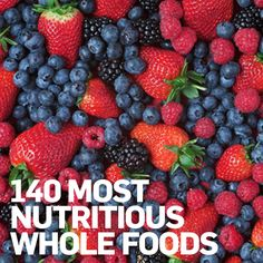 The most nutritious whole foods out there (+ swaps so you're sure to find something you like)