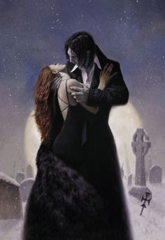 The Most Beautiful Vampire Art We've Seen in Untold Ages Vampire Love, Gothic Vampire, Vampire Art, Vampire Legends, Vampire Kiss, Karin Chibi Vampire, Immortals After Dark, Dark Love, Vampires And Werewolves