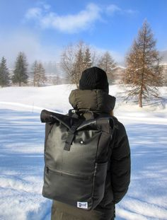 Black backpack collection Perfect for a weekend in the mountains. Black Backpack, Bradley Mountain, Switzerland, Backpacks, Seasons, Mountains, Winter, Bags, Collection