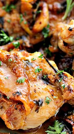 Garlic Sauce Chicken - perfect dish to serve company