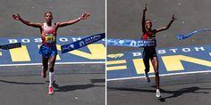 Congratulations to U.S.A's Meb Keflezighi & defending champion Rita Jeptoo on winning the #BostonMarathon2014