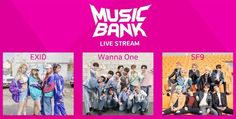 "Watch Live: EXID, Wanna One, SF9, And More Perform On ""Music Bank"""